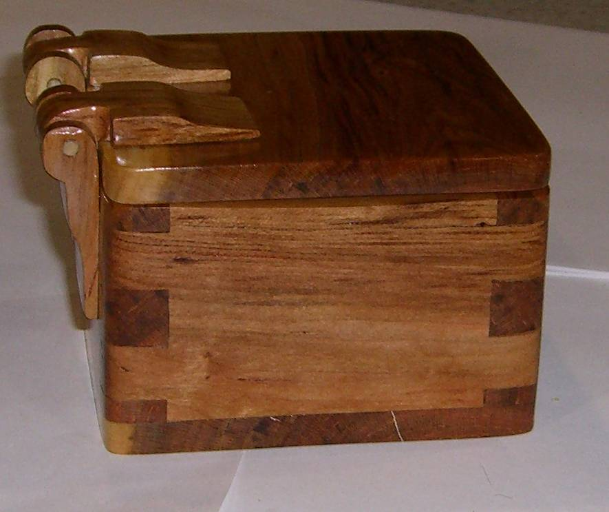 Wooden Chest Hardware ~ Wooden box with hinges glassymountain